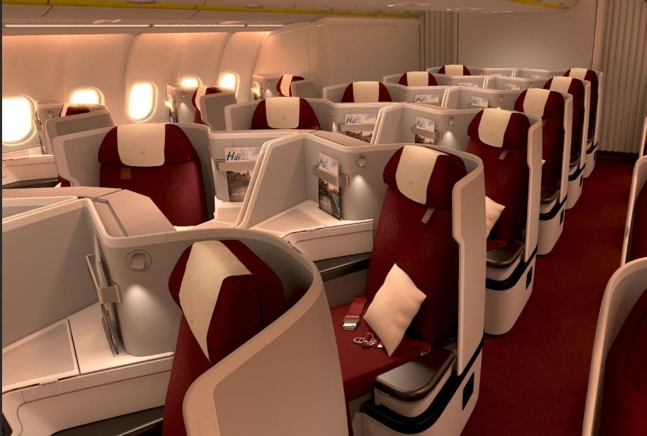 海南航空全新A330飞机公务舱