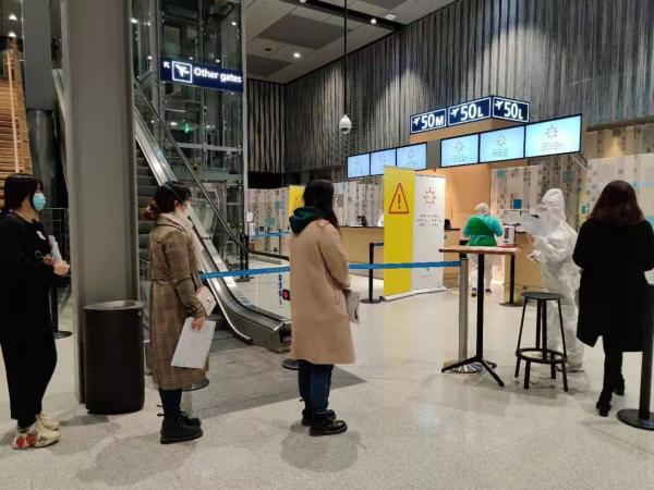 吉祥航空携手赫尔辛基机场为中转旅客提供双检测服务