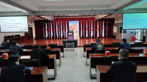 国航重庆分公司开展消防安全宣传月活动
