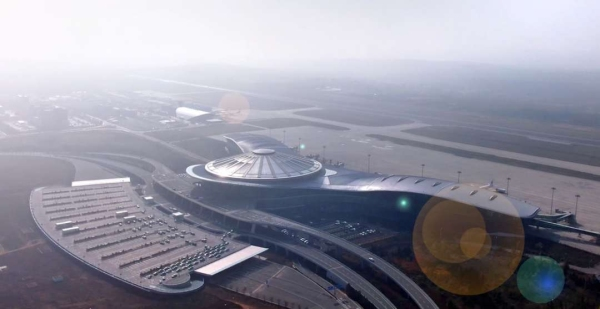 鄂尔多斯机场四型机场建设初显成效