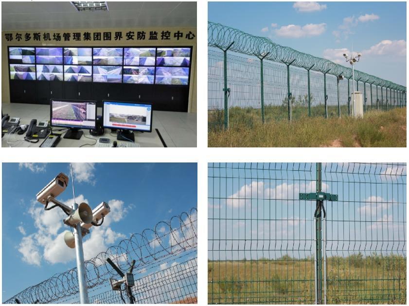 围界安防报警系统           机场供图