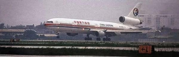 1999年东航派出客机执行浦东机场试飞任务