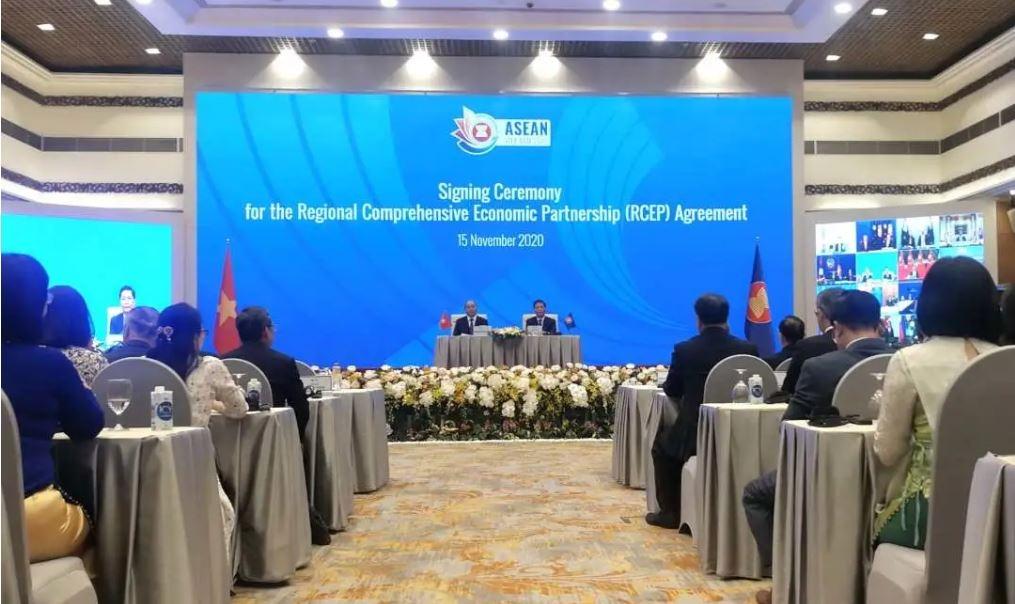 15国签署RCEP 全球规模最大自贸协定达成