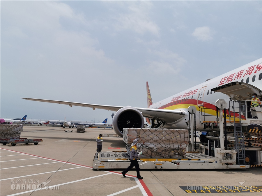 """海南航空安全保障""""客改货""""包机1000班 业务收入突破15亿"""