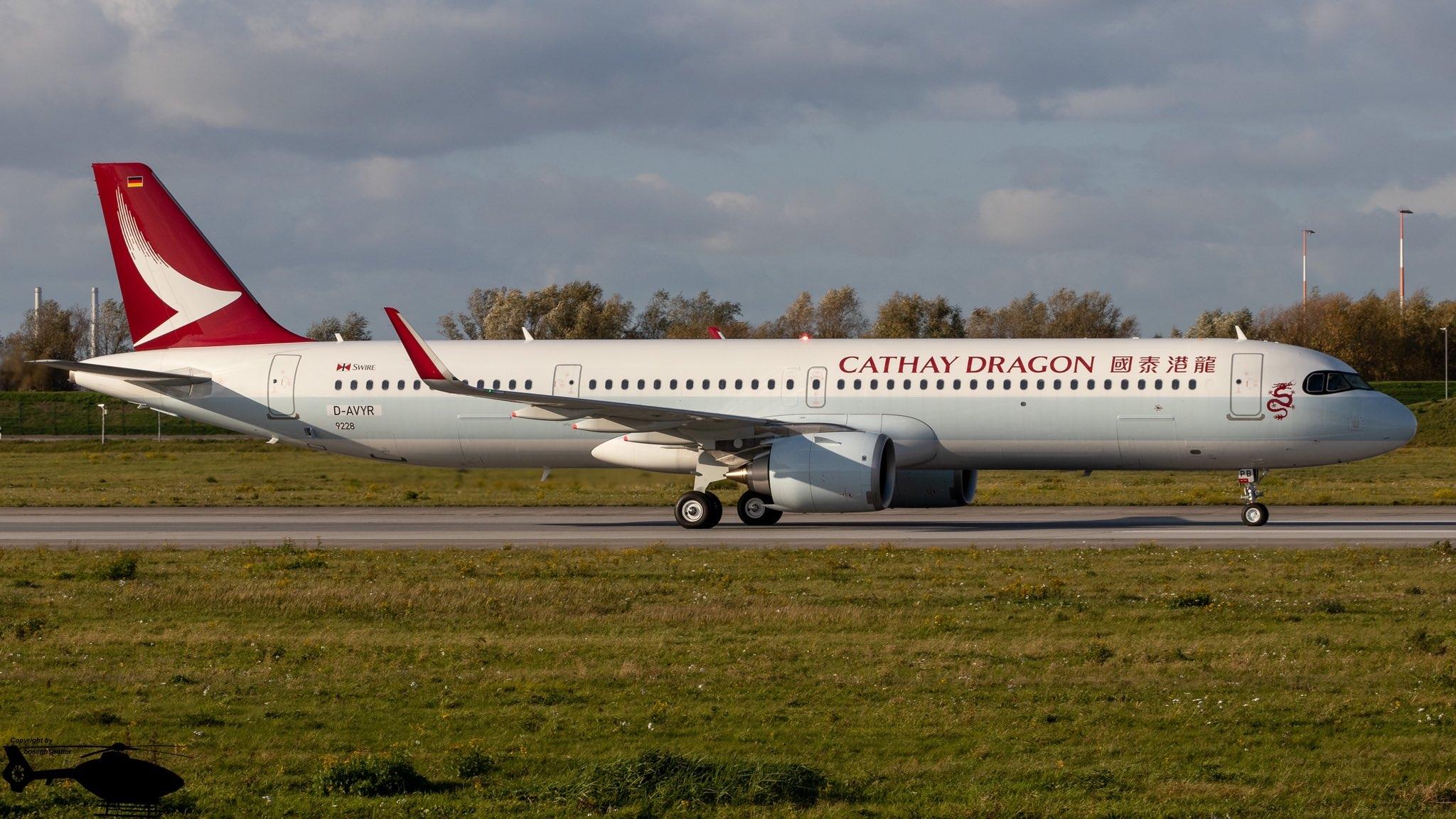 国泰航空工程师欧洲接新机返港后感染新冠