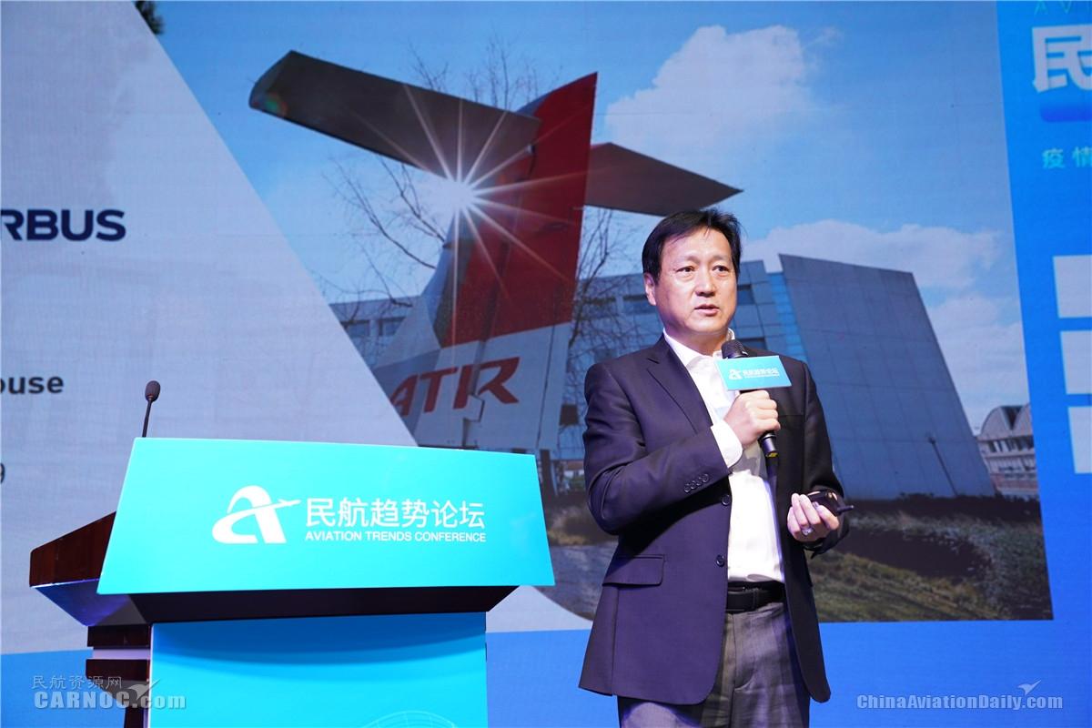 ATR销售副总裁兼中国区首席代表王旗
