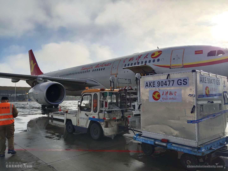 257吨防疫物资抵达缅甸!天津航空连续9班客改货包机助力国际抗疫