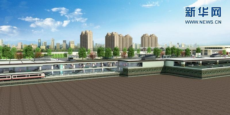 四川首条跨市城际轨道交通开建 未来资阳40分钟可达成都天府国际机场