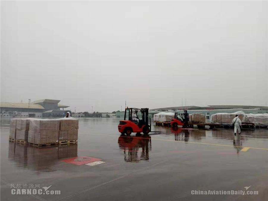 武汉天河机场跨境电商进出口货物总量创历史新高