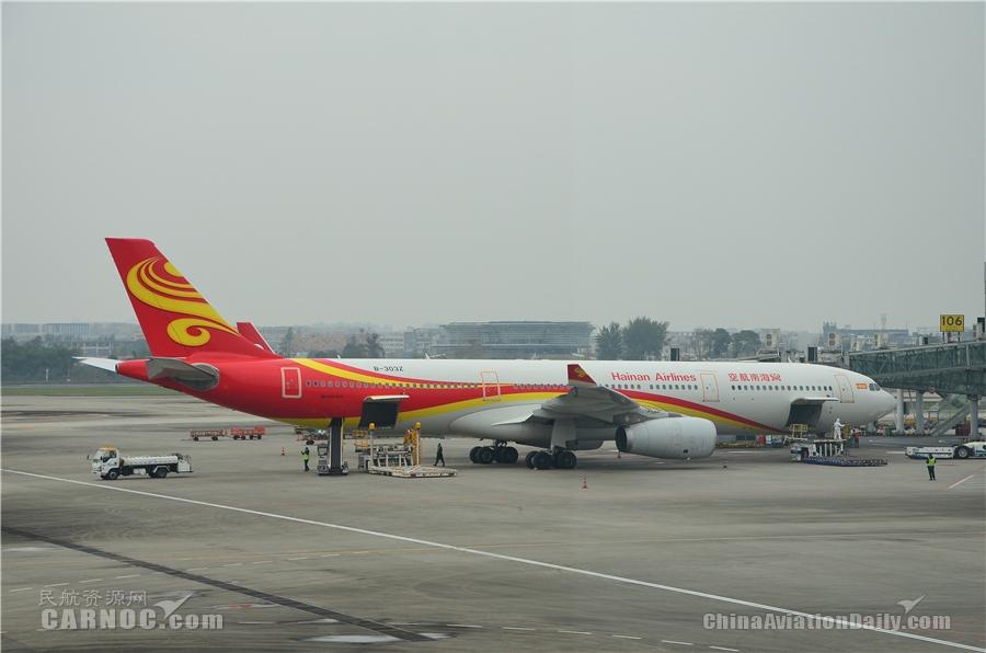 海南航空执行成都-卡拉奇-伊斯兰堡客运包机任务 助力中巴经济走廊建设