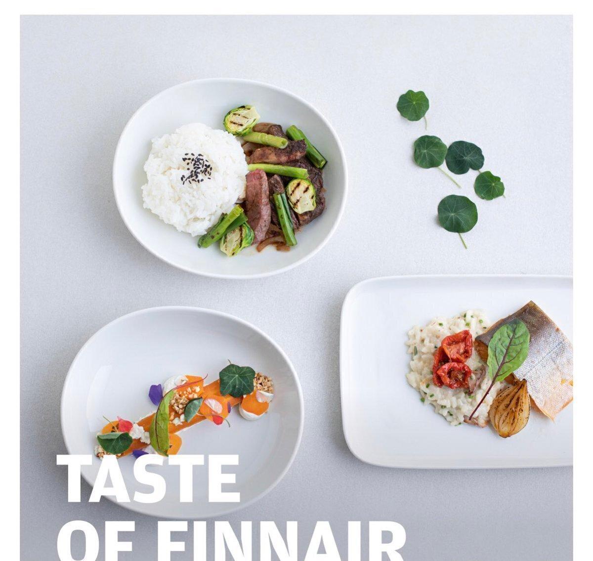 芬兰航空商务舱餐食