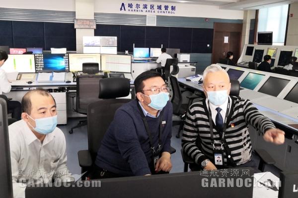 黑龙江空管分局流量管理席顺利保障中国民航流量管理系统试验运行工作