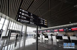 图集:海口美兰国际机场二期即将投入运营