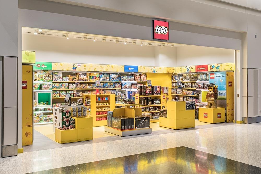 Marshall在美国开首家乐高机场店