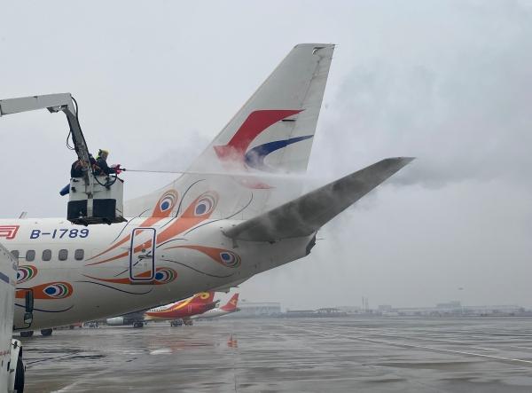 东航江西分公司做好2021年首场降雪天气保障工作