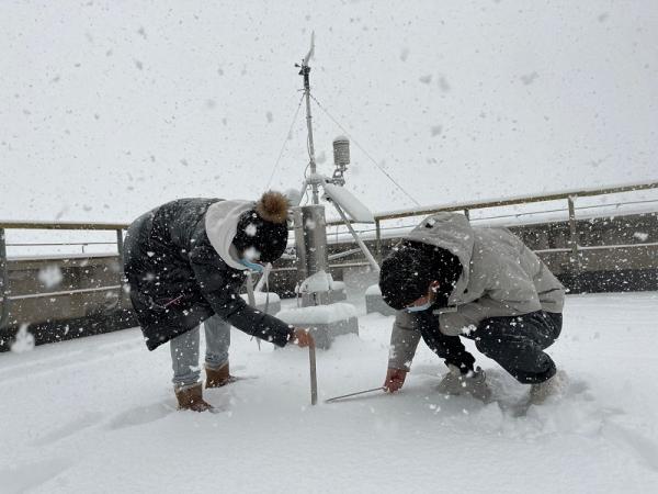 大连空管站探测室疫情期间圆满完成紧急雪情保障任务