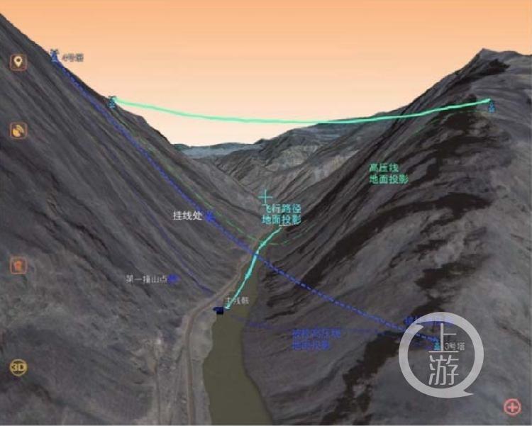 事故现场周围环境3D示意图。图片来源/事故调查报告