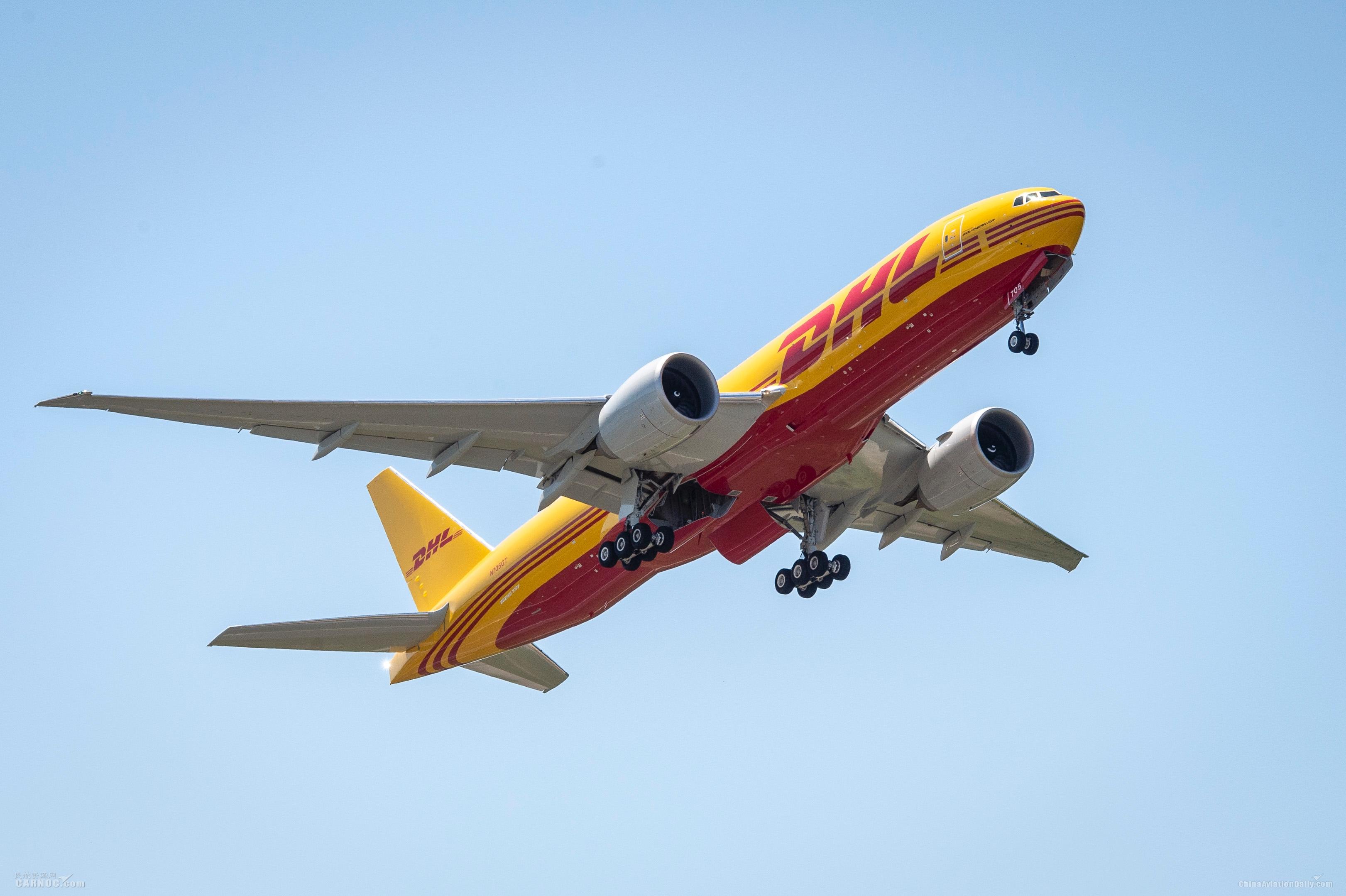 DHL快递新购8架波音777货机 进一步加强全球航空网络建设