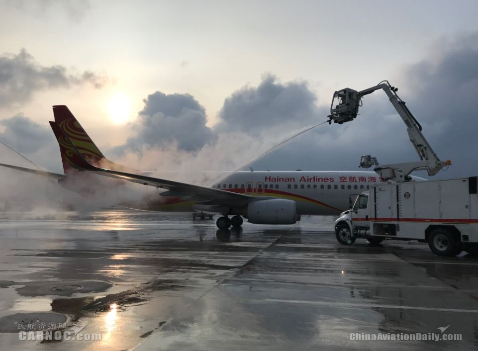 海南航空安全主管王奎:以实际行动全力保障冬季运行安全