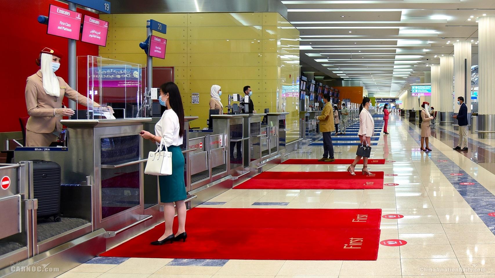 """阿联酋航空率先参与试用""""IATA Travel Pass国际航协旅行通行证"""""""