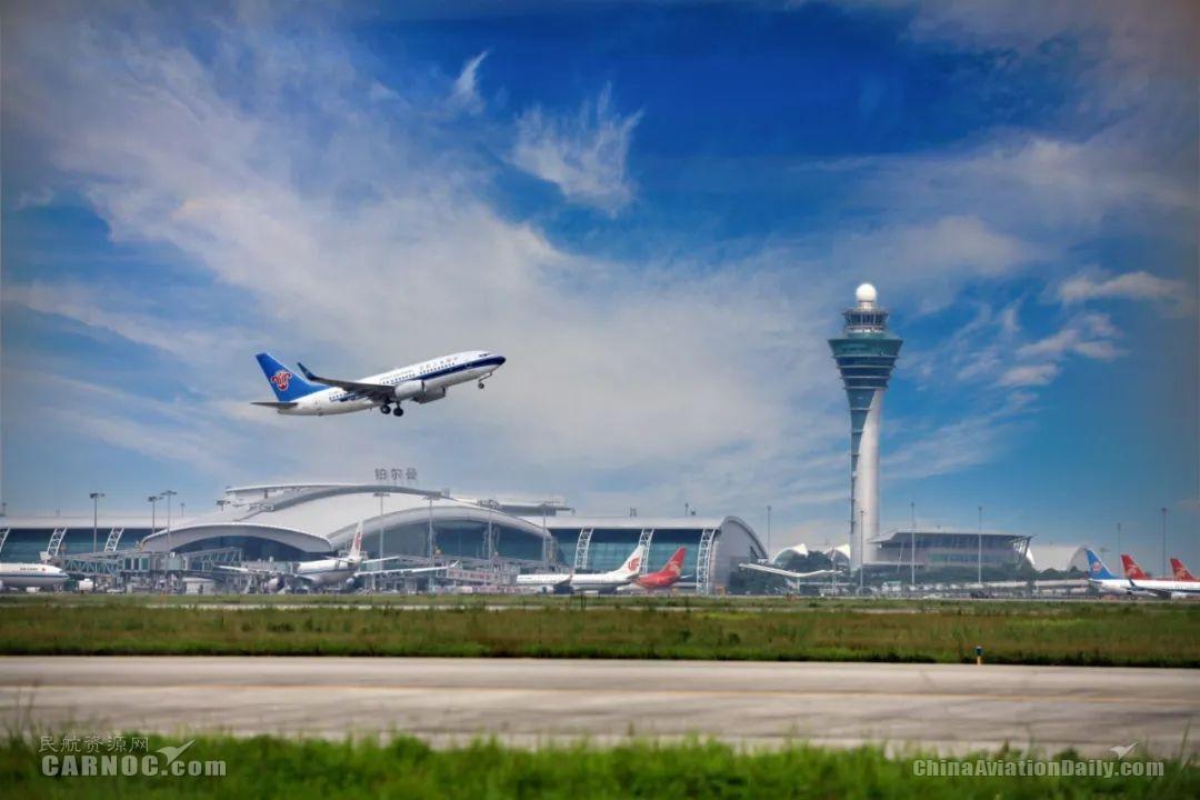 超越亚特兰大 广州白云机场成全球最繁忙机场 中国机场首次问鼎