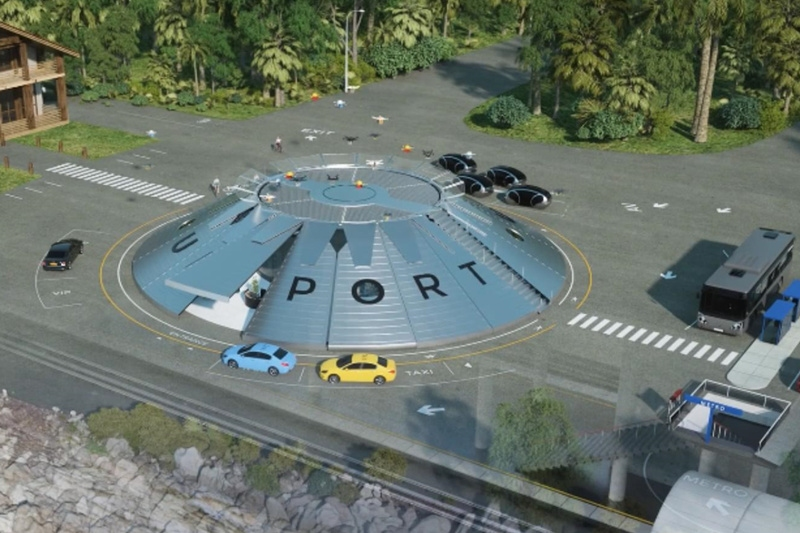 英国将建全球首个快递及载人无人机机场