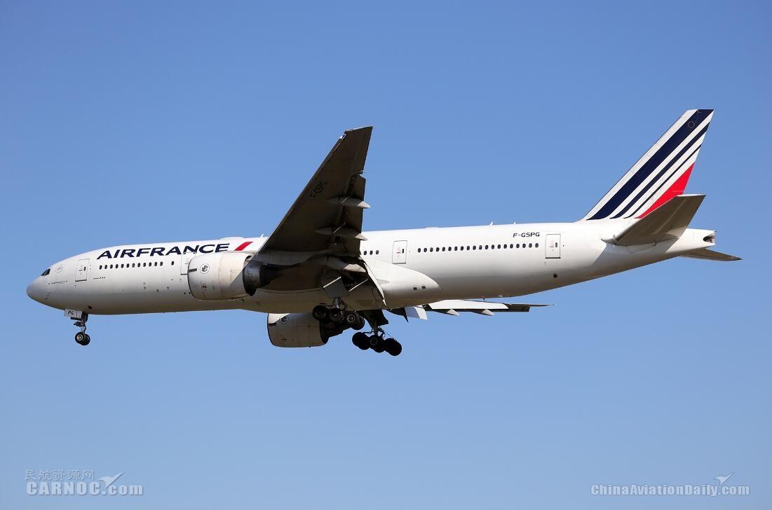 法航退役4架波音777-200ER飞机