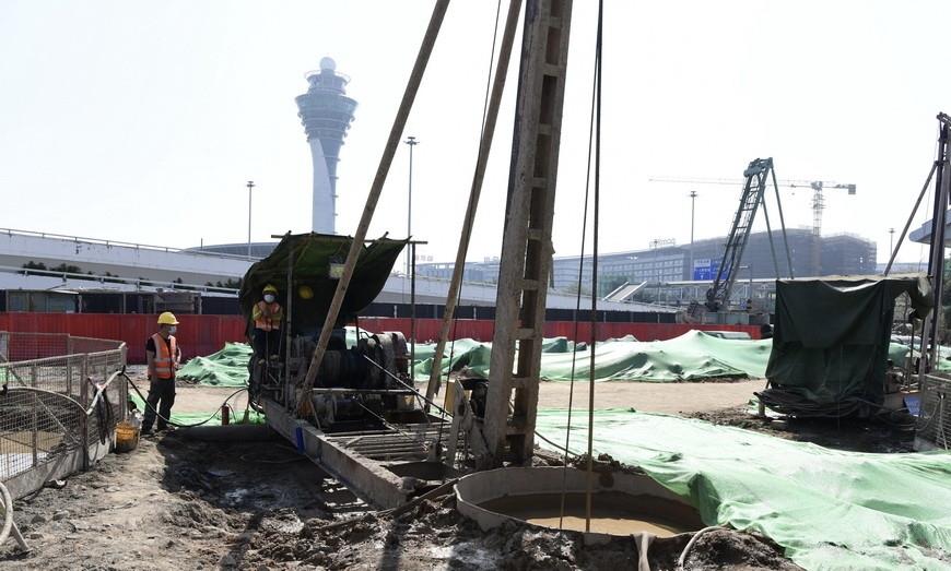 广州白云机场三期工程复工,5条跑道,中国建筑面积最大民航机场