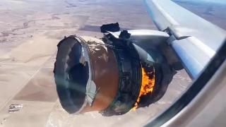追踪:美联航客机起飞后引擎爆炸
