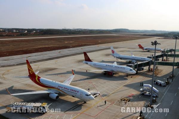 衡阳机场五一小长假输送旅客近两万人次