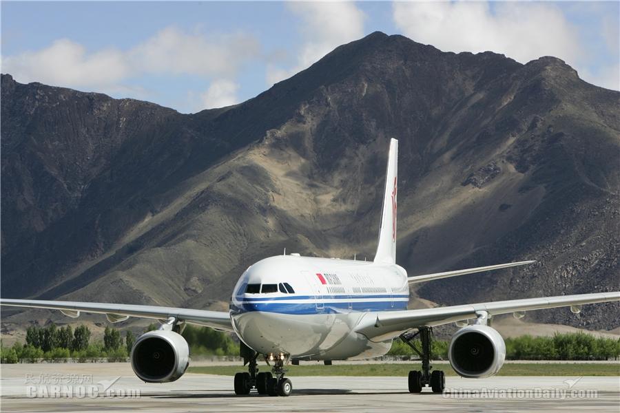 国航成都—拉萨航线安全飞行56年载客1356万