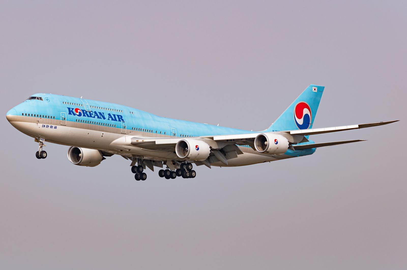 多图:大韩航空747-8将改装成新一代总统专机
