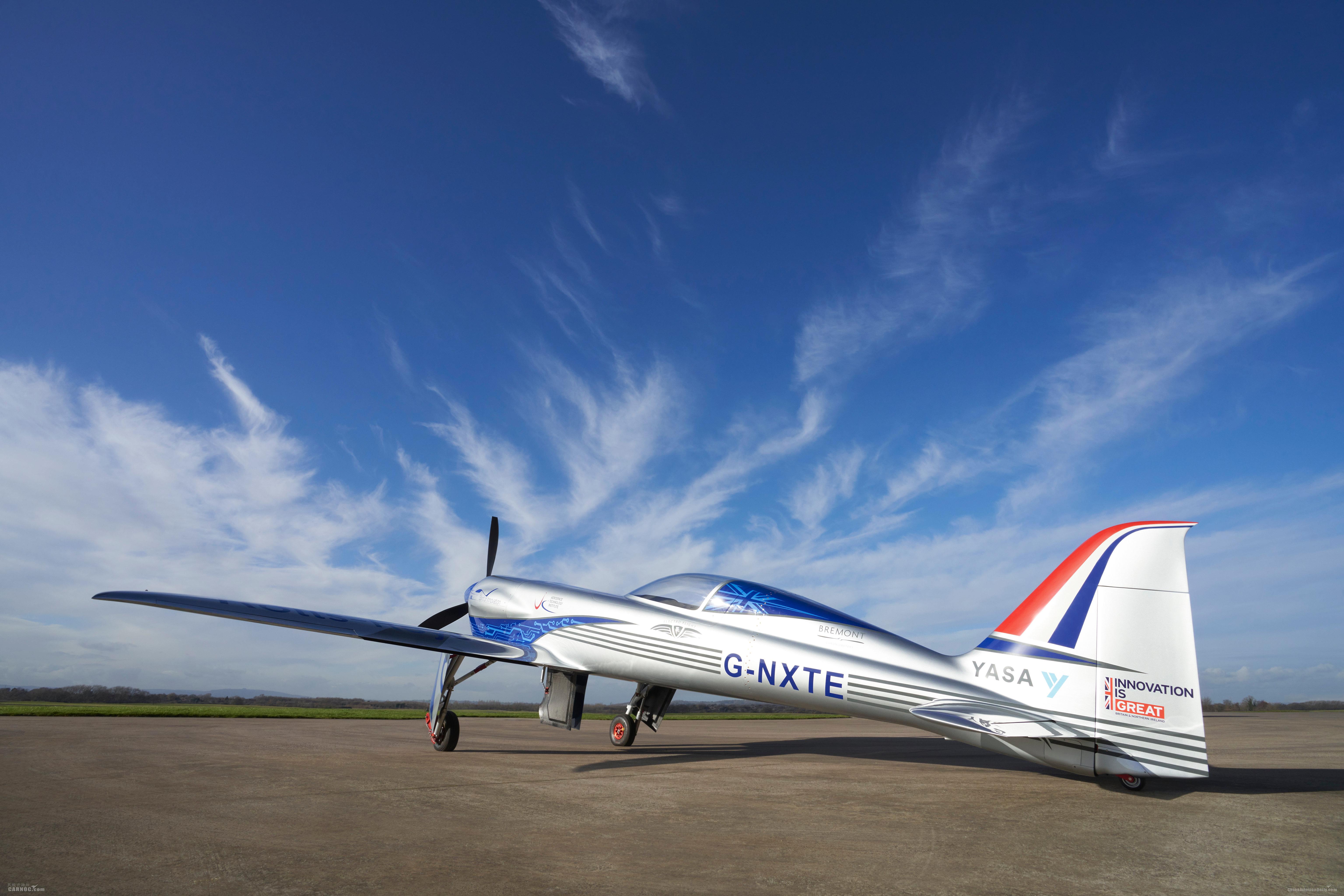 """罗罗""""创新精神""""号全电动飞机成功完成滑行测试"""