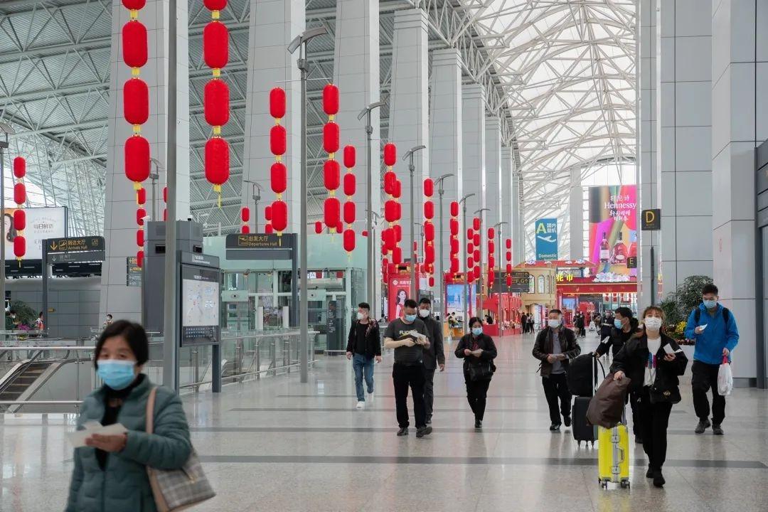 2021年春运收官,白云机场接送旅客372万人次