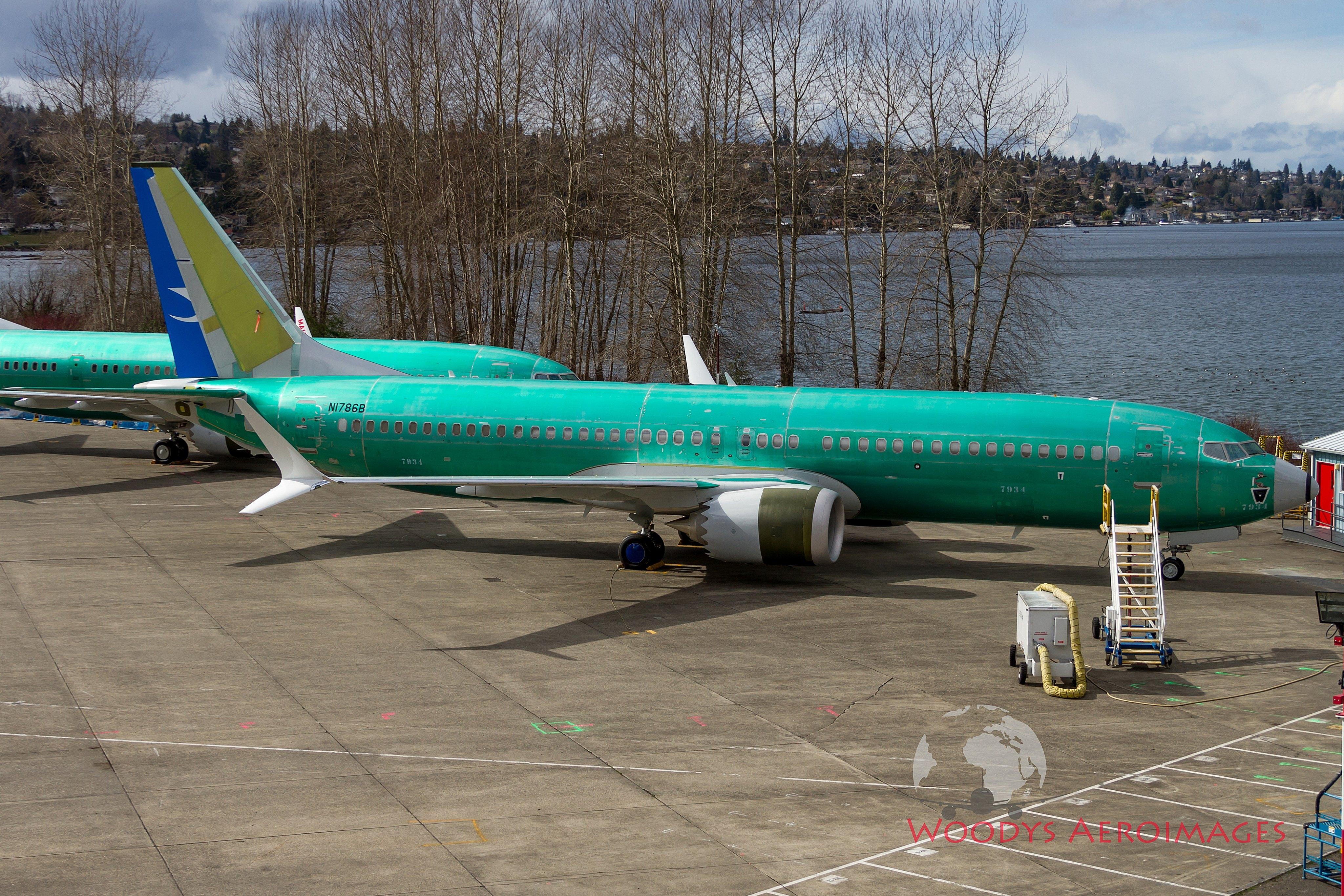 多图:波音新一批737MAX总装下线 国航厦航均在列
