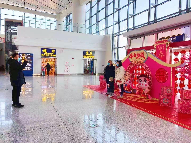 张家口机场春运运送旅客2.5万人次