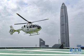 """""""民航客运+直升机"""" 深圳开通机场到市区空中接驳航线"""