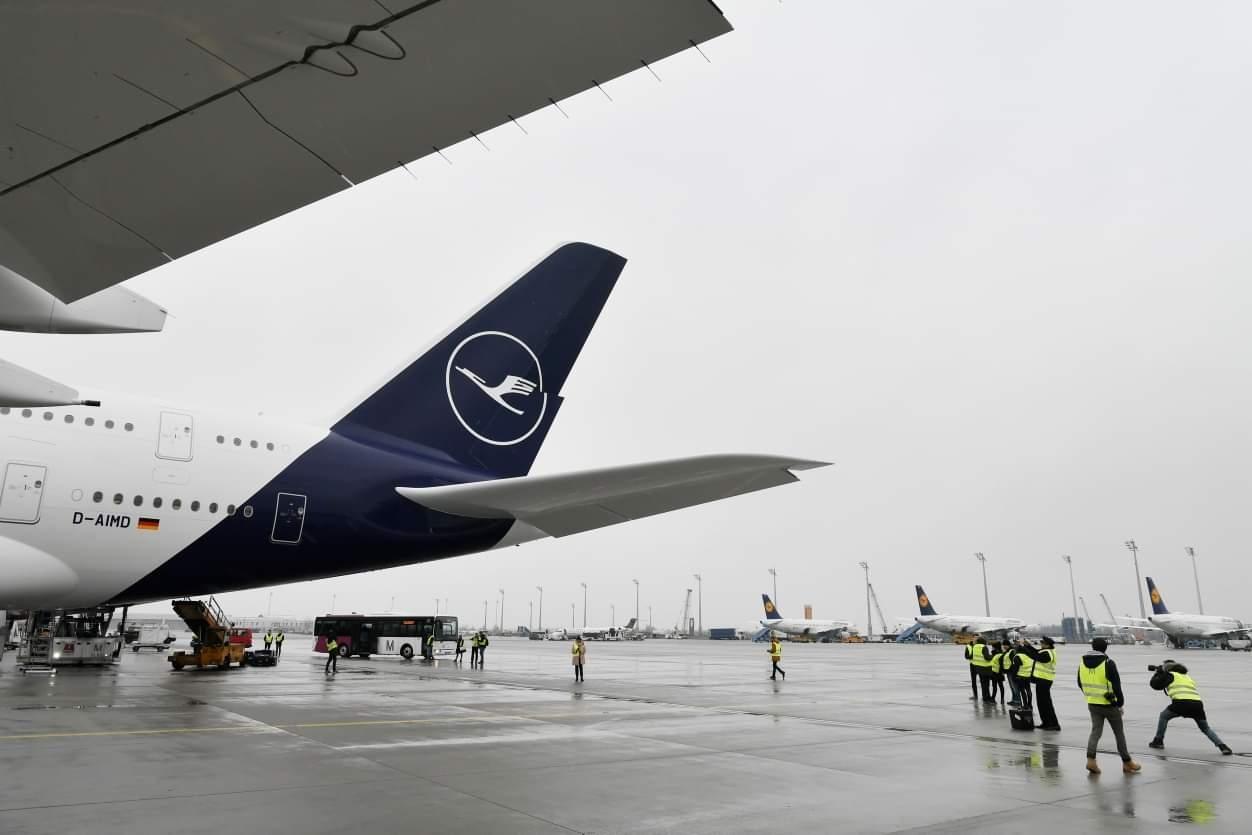 视频:汉莎航空又一架A380封存
