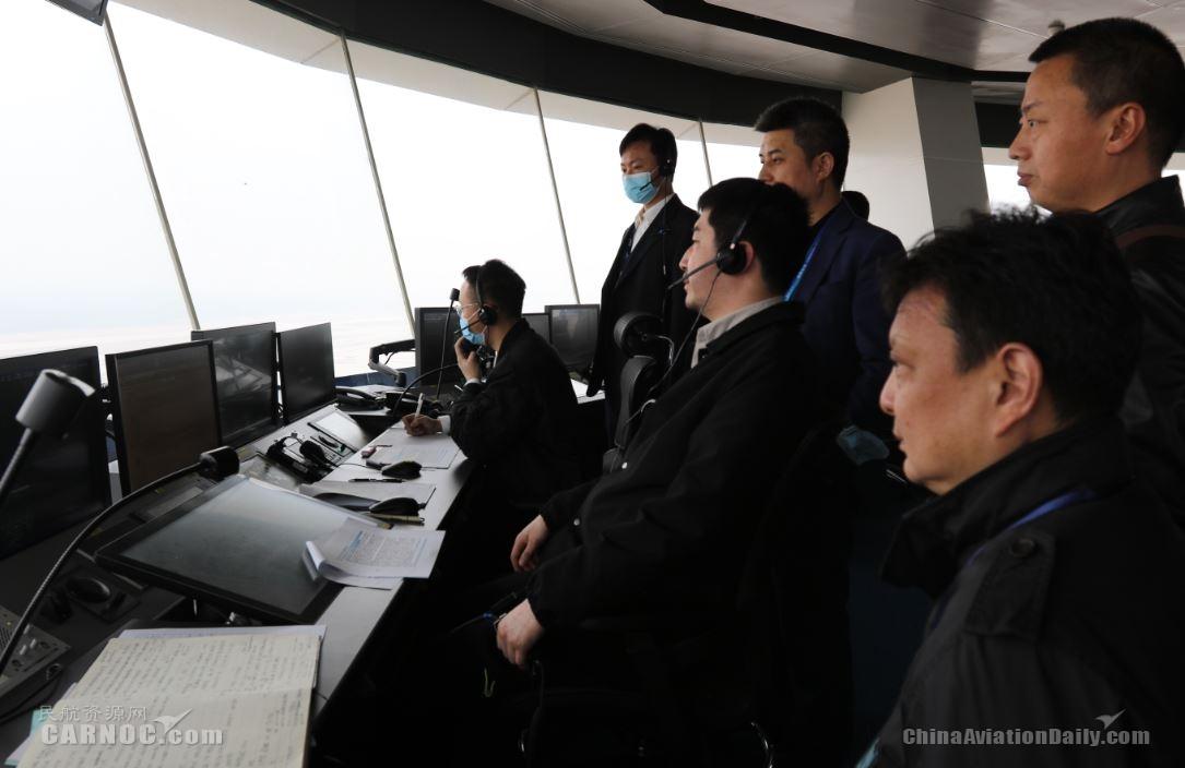 西南空管局完成天府机场第二阶段试飞空管保障
