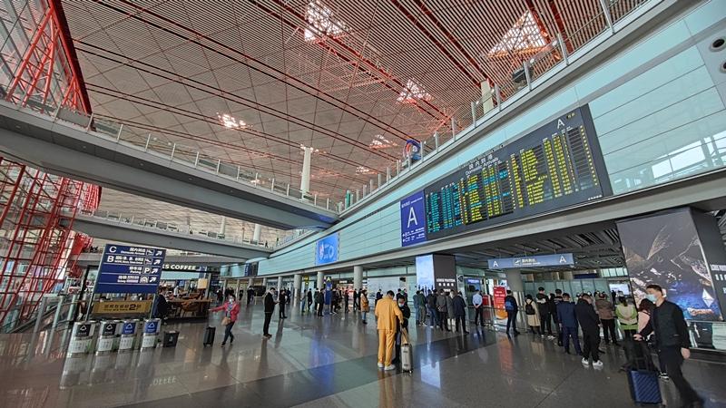 新航季首都机场日均计划执行航班1079架次