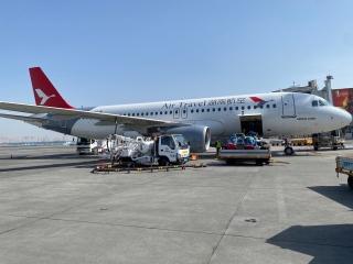 湖南航空成功首航乌鲁木齐机场