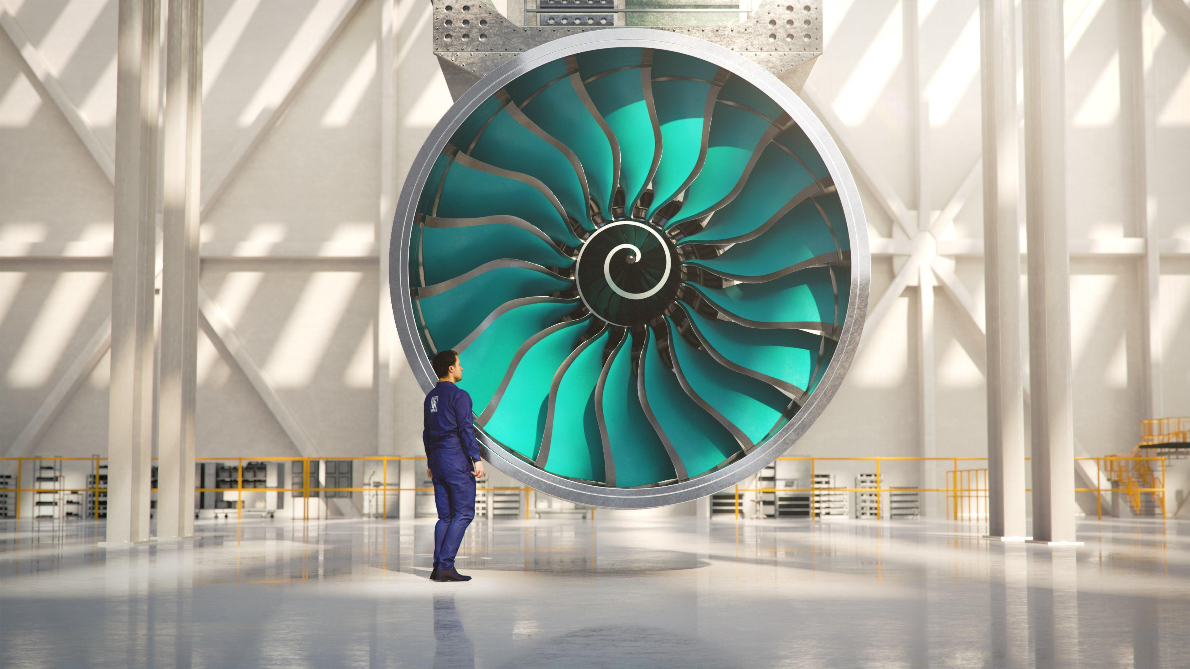 罗尔斯-罗伊斯开始组装全球最大航空发动机