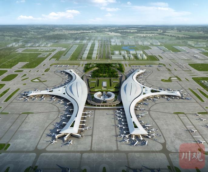 神鸟展翅!天府国际机场航站区工程今竣工验收
