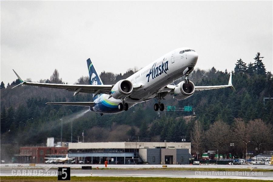 波音再获737MAX新订单 阿拉斯加航空增购38架