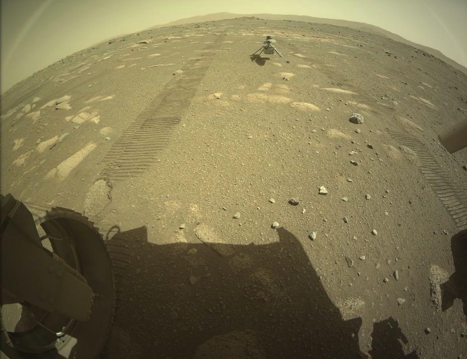 首架火星直升机着陆 最早4月11日首飞