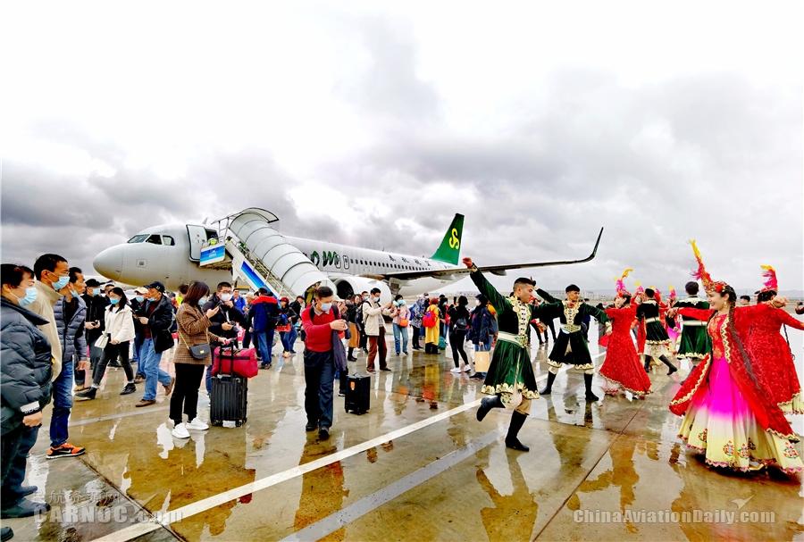 助推喀什乡村振兴,2021上海旅游援疆包机首飞