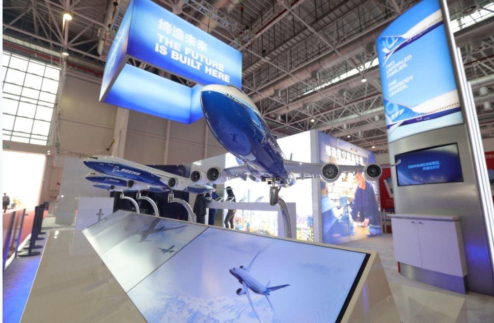 波音访问珠海航展公司 洽谈参加第十三届中国航展事宜