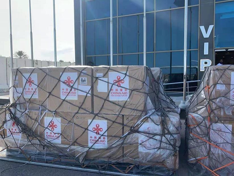 中国援助索马里新冠疫苗运抵摩加迪沙