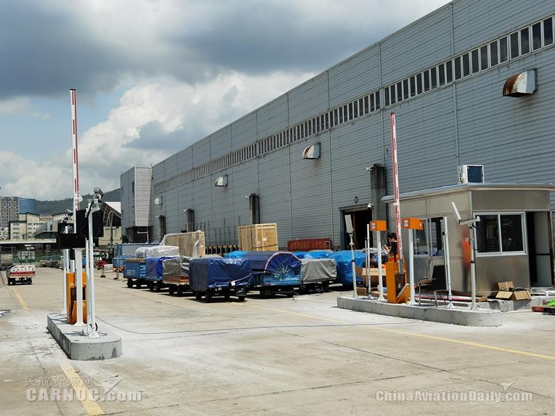 深圳机场在国内机场首创货运空侧监管新模式