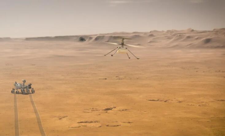 4月19日!NASA确认机智号火星直升机首飞时间